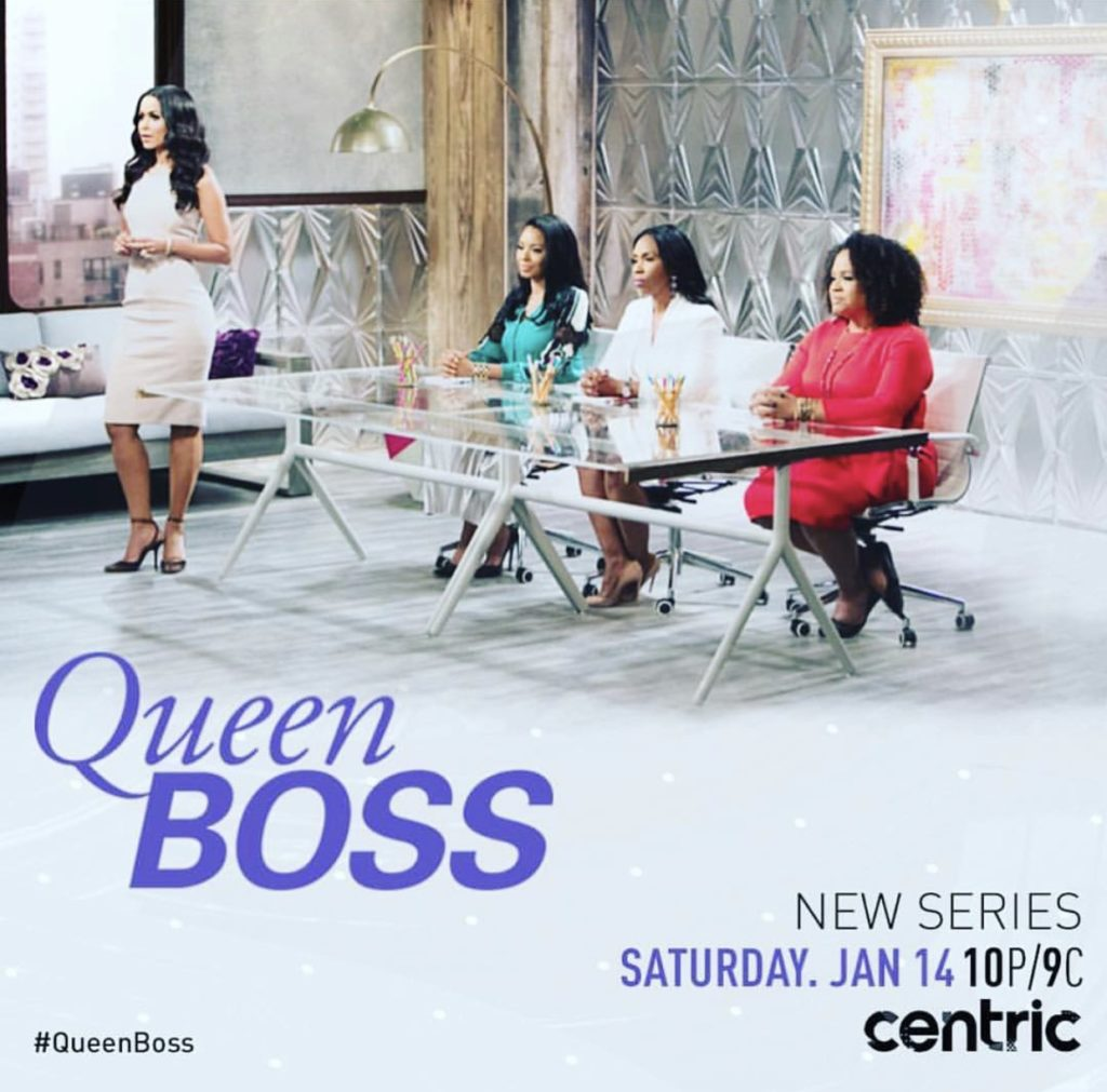 Watch Kim on an upcoming episode of Queen Boss. So excited to be among such amazing women entrepreneurs! #QueenBoss #CentricTV